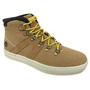 NWT Timberland Sport Hiker Canvas Boot, Wheat 11.5